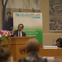 GFMD 2016 Chair Shahidul Haque Thematic Workshop Bangkok