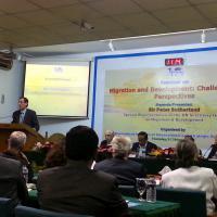 John Bingham GFMD Dhaka