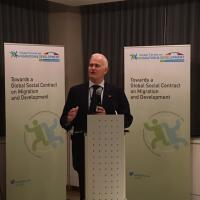 Ambassador Schmidt-Bremme, GFMD Reception at the Permanent Mission of Germany, New York, 16 February