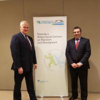 Germany and Morocco co-chairmanship of the Global Forum on Migration and Development (GFMD)