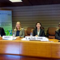 22 October 2014 - Geneva. GFMD Pledging Meeting