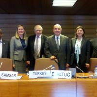 21 October 2014 - Geneva. First Meeting of the GFMD Troika