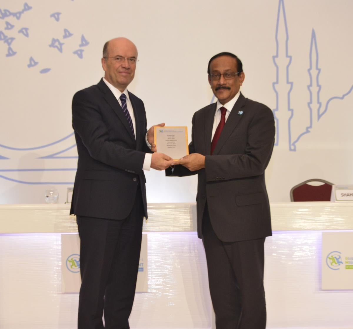 GFMD Chairmanship hand-over