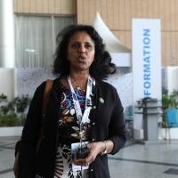 With Amb. Hanna Simon, Eritrea