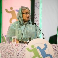 9th GFMD Summit Meeting - Opening Session ?H.E. Sheikh Hasina, Prime Minister of the People's Republic of Bangladesh