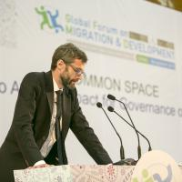 Opening of Common Space Mr. Justin MacDermott, Adviser to the Special Representative of UN Secretary-General (SRSG) for International Migration